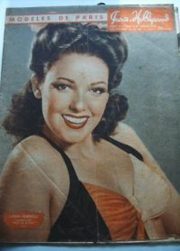 47 Original Paris Hollywood Pin-Up Girls Linda Darnell