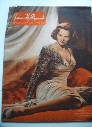 1947 Original Paris Hollywood Pin-Up Girls Donna Reed