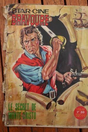 1964 Magazine The Treasure of Monte Cristo Rory Calhoun Gianna Maria Canale
