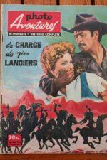 1959 Vintage Magazine Errol Flynn Olivia De Havilland