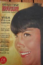 1965 Magazine Visa to Canton Richard Basehart Lisa Gastoni Athene Seyler