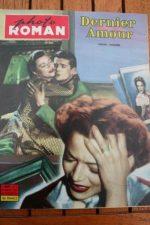 1959 Annabella Jeanne Moreau Dernier Amour Diane Varsi