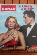 1959 Jean Marais Dany Robin Amants De Minuit +200 pics