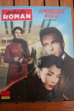 59 Montgomery Clift Jennifer Jones Indiscretion +200pic