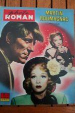 1959 Marlene Dietrich Jean Gabin Martin Roumagnac +200p