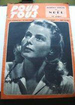 1946 Ingrid Bergman Bing Crosby Ray Milland Dietrich