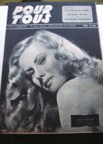 46 Jane Harker Greta Gynt Hitchcock Cary Grant Montand
