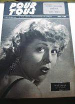 1947 Dietrich Robert Taylor Bette Davis Esther Williams