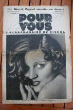 1933 Meg Lemmonier Pagnol John Lionel Ethel Barrymore