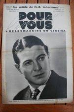 Mosjoukine Norma Shearer Miriam Hopkins Gaby Morlay