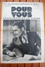 1933 Ronald Colman Gaby Morlay Mickey Mouse Mae Clarke