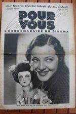 1933 Sylvia Sidney Charles Chaplin Binnie Barnes