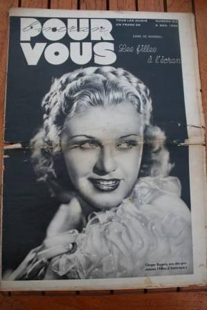 Ginger Rogers Conrad Veidt Marlene Dietrich Alice Field