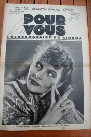 Katharine Hepburn Greta Garbo Charles Boyer Jean Harlow