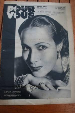 1936 Dolores Del Rio Freddie Bartholomew Rod La Rocque