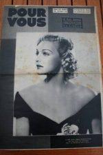 Madeleine Carroll Katharine Hepburn Claudette Colbert