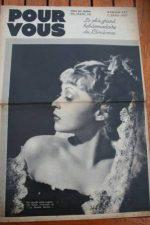 1937 Lilli Palmer Jean Gabin Pepe Le Moko Fernandel
