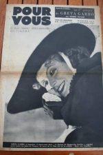 37 Greta Garbo Robert Taylor William Powell Tino Rossi