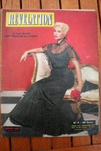 1954 Martine Carol Tyrone Power Jean Marais Pier Angeli
