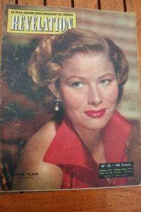 54 Nancy Olson Martine Carol Pierre Cressoy Helene Remy