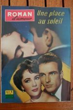 62 Montgomery Clift Liz Taylor A Place In The Sun +200p