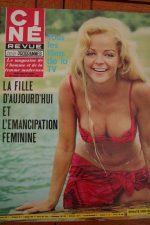 Magazine 1968 Mireille Darc Anne Heywood Julie Christie Anouk Aimee Tina Aumont
