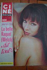 Magazine 68 Raquel Welch Sean Connery Annie Girardot Doris Day Patricia Viterbo