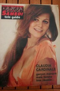 1974 Mag Claudia Cardinale Sean Connery Michel Audiard