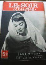 1949 Mag Jane Wyman On Cover