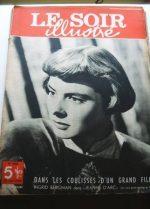 1949 Mag Ingrid Bergman On Cover