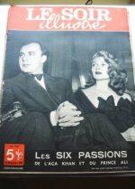 1949 Mag Rita Hayworth Ali Khan On Cover