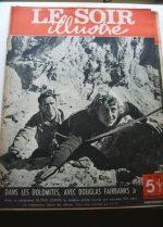 1949 Mag Douglas Fairbanks Jr Glynis Johns On Cover