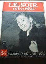 1949 Mag Blanchette Brunoy On Cover