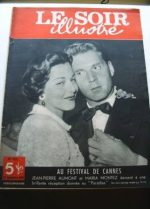 1949 Mag Maria Montez Jean Pierre Aumont On Cover