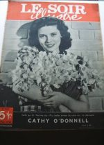1950 Mag Cathy O'Donnell On Cover