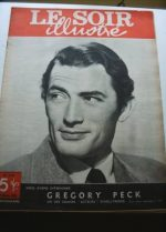 1950 Mag Gregory Peck On Cover
