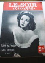 1950 Mag Susan Hayward On Cover
