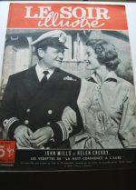 1950 Mag John Mills Helen Cherry On Cover
