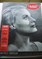 1953 Mag Michele Morgan On Cover