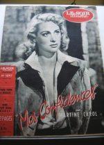 1953 Mag Martine Carol On Cover