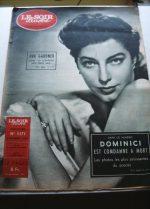 1954 Mag Ava Gardner On Cover