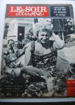1956 Mag Martine Carol On Cover