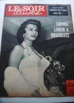 1956 Mag Sophia Loren On Cover