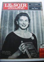 1957 Mag Ingrid Bergman On Cover