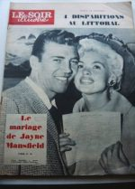 1958 Mag Jayne Mansfield Mister Universe On Cover