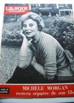 1959 Mag Michele Morgan On Cover