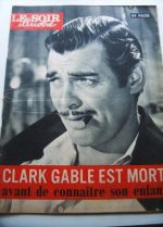 1960 Mag Clark Gable On Cover