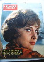 1961 Mag Gina Lollobrigida On Cover