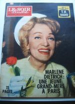 1962 Mag Marlene Dietrich On Cover