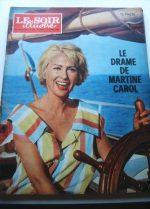 1963 Mag Martine Carol On Cover